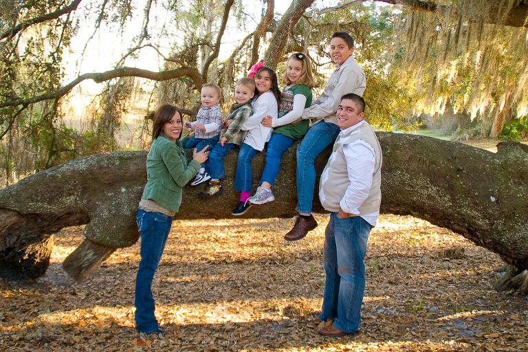 New Port Richey Family Photo