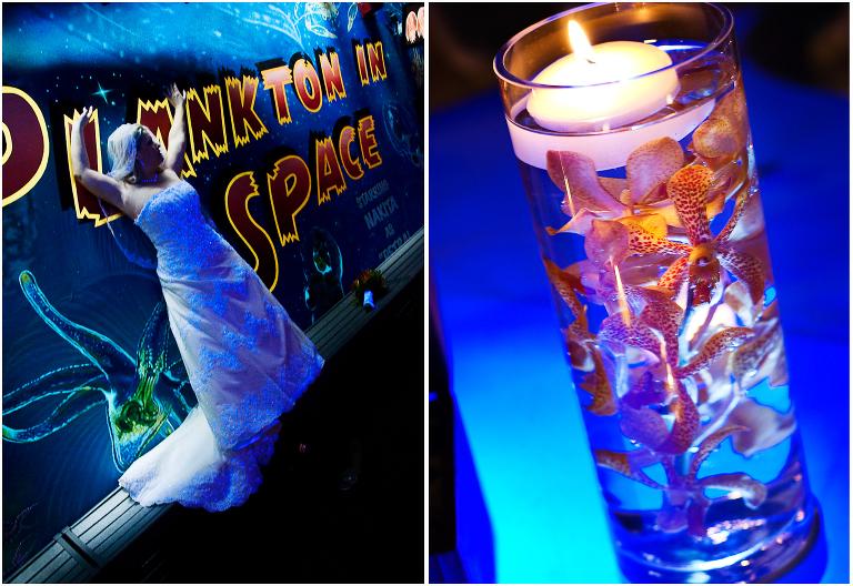 Florida Beach Wedding With Aquarium Reception: Tampa Florida Aquarium Wedding ⋆ Alicia Johnson Photography