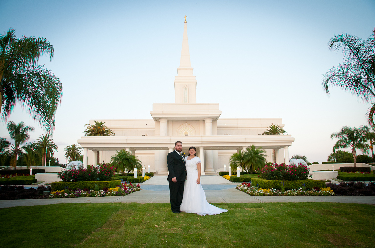 Orlando Temple wedding