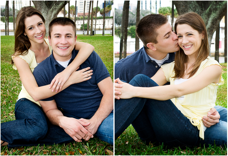 tampa engagement pictures