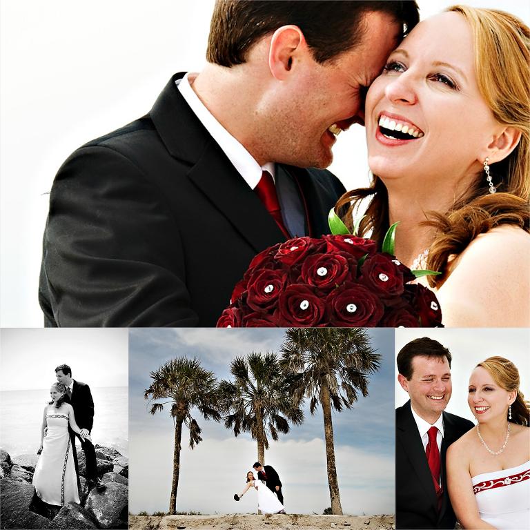 Honeymoon Island wedding photographer