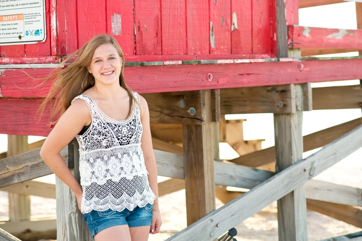 Clearwater Beach senior pictures
