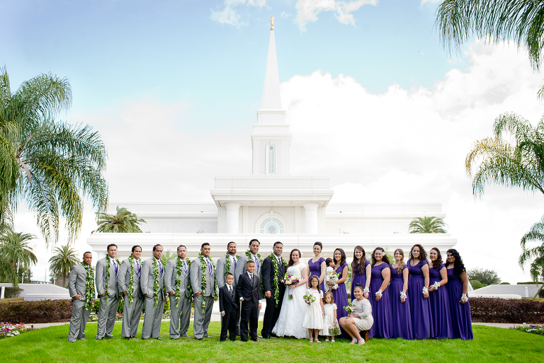 Orlando Temple Photographer
